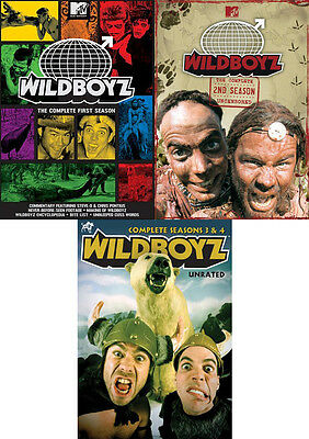 Wildboyz . The Complete MTV Series . Season 1 2 3 4 . Steve O . DVD . NEU . OVP
