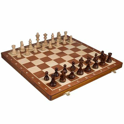 Chess Set - Tournament Staunton Complete No. 6 Board Game - Hand Made European