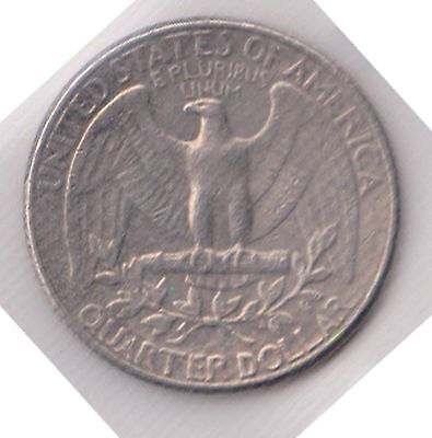 (H22-29) 1984 USA 25cent coin (AD)