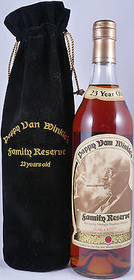 Pappy Van Winkle 23 Years Family Reserve Bourbon Whiskey 47,8% - bottled 2007!