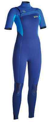48503-4535 ION Wetsuit Isis Steamer SS 3/2 Women 2015 - Shipping Europe Free