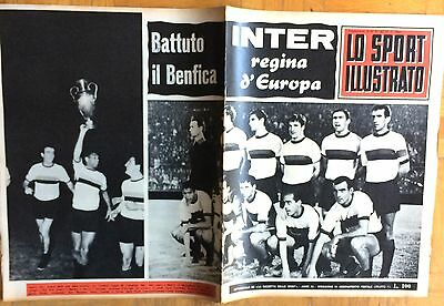 1965 EUROPEAN CUP CHAMPION  FINAL  INTER MILAN v BENFICA   RANGERS  LIVERPOOL