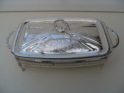 Silver Plate Serving Dish Platter Mayell Silver Plate