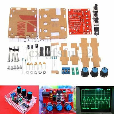 XR2206 1HZ-1MHZ DDS Function Signal Generator DIY Kit Sine Triangle Square Wave