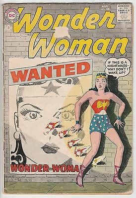Wonder Woman #108,ten Cent Dc Silver Age,off White Pages!