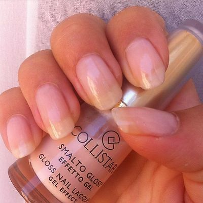 COLLISTAR Nail Lacquer Gel Effect (511 Romantic Rose) 6ml OVP