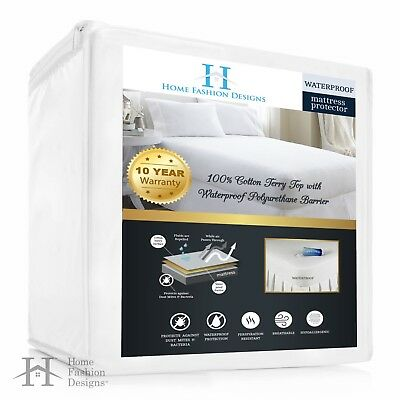 Lexia Waterproof, Hypoallergenic, Deep Pocket Fitted Mattress Protector