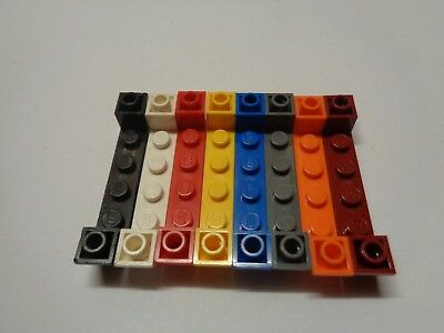 Lego 10 pieces red inclines inversees//10 red slope inverted 45 2 x 2 °