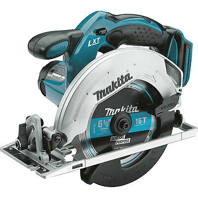 Makita XSS02Z 18V LXT Lithium-Ion Cordless 6-1/2-inch Circular Saw, Bare Tool