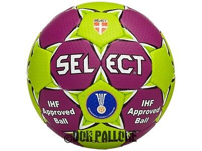 Select Handball Solera grün - lila Wettspielball IHF Training Ball Gr.1 - 3