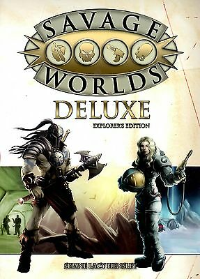 Studio 2 Publishing Savage Worlds RPG - Deluxe Explorer (SOFTCOVER)