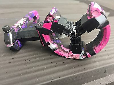 Octane Hostage Whisker Capture Archery Arrow Rest Muddy Pink LH or RH Archery