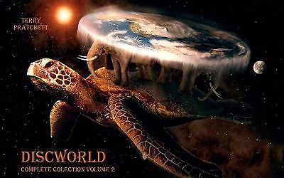 Terry Pratchet Discworld Complete Collection Vol 2: Titles16 to 30 Unabridged