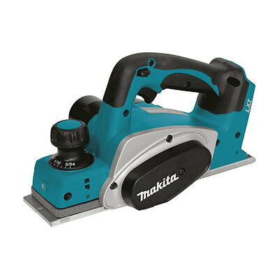 Makita XPK01Z 18 Volt LXT Lithium-Ion Cordless 3-1/4-Inch Planer, Tool Only