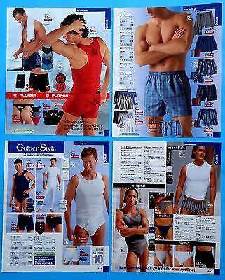 Men's Underwear Pajamas Catalog Clippings 28 pages  Ad Print