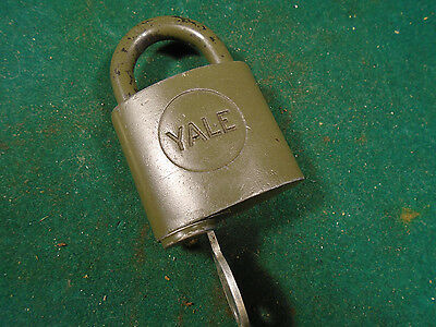 1/2 Round & A Wwii Army Padlock: Auction For Daryl       (5105-267) & (5105-280)