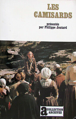 Les Camisards. Philippe Joutard. Gallimard / Collection Archives n° 63 DL 1987
