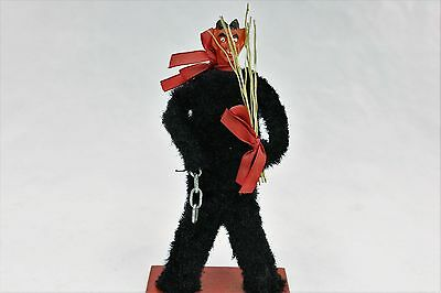 Krampus Standing Wide Legged 1960's Christmas Saint Nicholas Demon