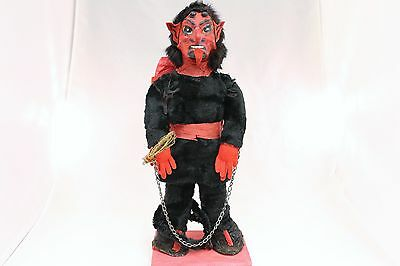 Krampus Made With Real Fur 1900's Christmas Saint Nicholas Demon LARGE