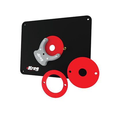 Kreg tool company prs4038 precision router table insert plate kreg tool company prs4038 precision router table insert plate undrilled greentooth Gallery