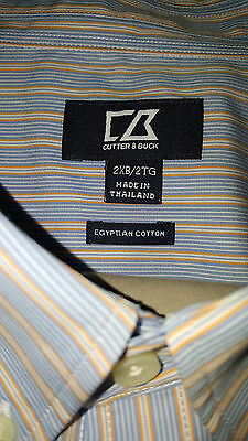 GREAT gift--NWT***Cutter & Buck Men's Button Down Shirt