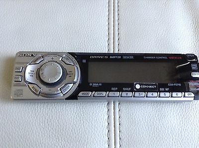 Sony Cdx-F5710 Faceplate Only Genuine