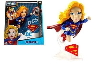 "Jada 6"" Metals Dc Girls Supergirl Flying Version Diecast Action Figure 97923"
