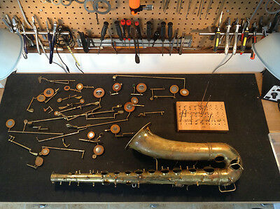 DVD VIDEO OF ME REBUILDING A  Conn 10M Tenor  SAXOPHONE  REPAD