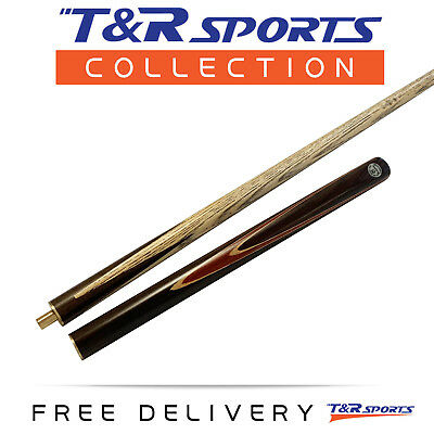 """1x 3/4 2-Piece O'Min Snooker Cue 57"""" with Extension for Pool Billiard Free Post"""