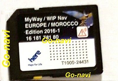 derni re maj carte sd 2016 gps peugeot citro n sat nav europe maroc wipnav myway eur 23 00. Black Bedroom Furniture Sets. Home Design Ideas