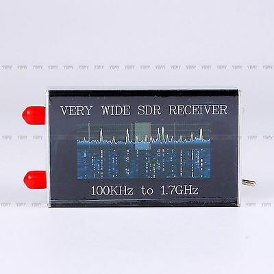 100KHz-1.7GHz Full Band Wide SDR Receiver RTL.SDR+Upconverter USB Tuner Receiver
