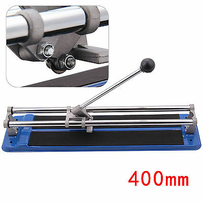 Heavy Duty 400mm Tile Saw Manual Hand Floor Wall Tile Cutter Cutting Machine UK
