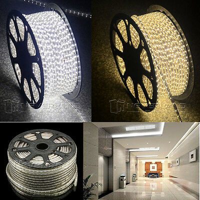 Xmas Rope Smd Led 5 5050 Rouleau Eclairage 100m Lampe Light 60ledm Ruban Strip QxthsrdCB
