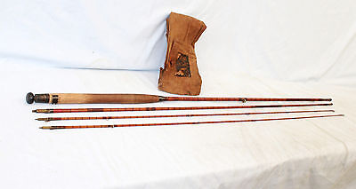 "10'-0"" Hardy The Palakona fly fishing rod for restoration or fish 1912  model"