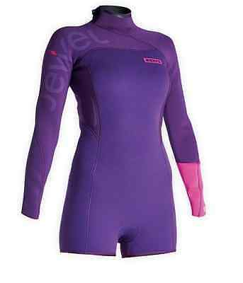 48503-4553 ION Wetsuit Jewel Hot Shorty LS 2,5 DL Women 2015 - Ship Europe Free