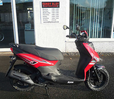 Sym Crox 125 Scooter NEW & UNREGISTERED