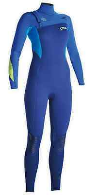 48503-4533 ION Wetsuit Isis Semidry 4/3 DL Women 2015 - Shipping Europe Free