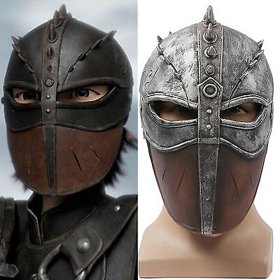 Hiccup Helmet How to Train Your Dragon Full Head Halloween Mask COSplay Props