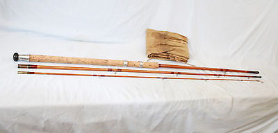 """12'-0"""" Milwards the Swimmaster hollow built Match fishing rod 3 piece very fine"""