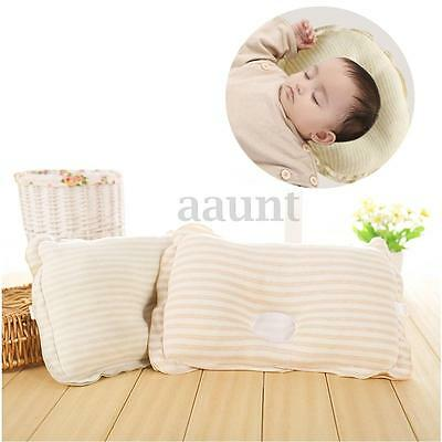 Infant Newborn Baby Soft Pillow Bedding Support Anti Flat Sleep Cotton Cushion