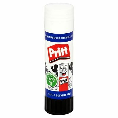 Pritt Stick Glue Stick 11g Washable Non-Toxic for Office School Home