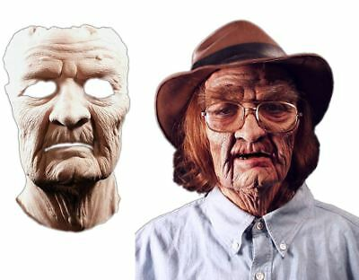 Old Age Mask Foam Latex Prosthetic