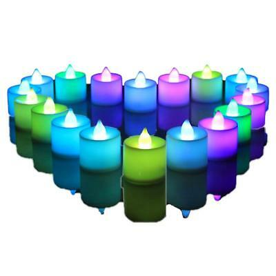 Led Tea Light Tealight Candle Candles Flameless Wedding Decor With Battery