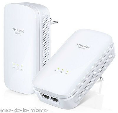 Adaptador Powerline TP-Link TL-PA7020 KIT 2Uds HomePlug AV 1000Mbps 2x GigaBit