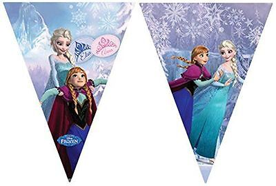 Frozen Ice Skating Flag Banner Party Supplies Decoration