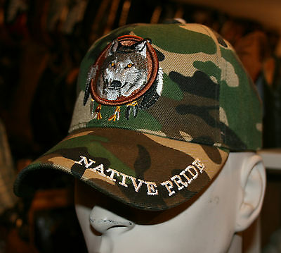 Casquette Usa- Western - Country -Loup -Indien **superbe Promo**