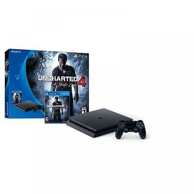 PS4 Slim 500GB Uncharted 4: A Thief�s End Bundle