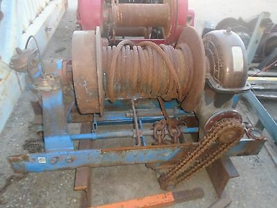 Tulsa Winch Model 70 - 65,000LBS - Excellent Condition