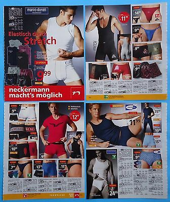 Men's Underwear Pajamas Catalog Clippings 30  pages Ad print