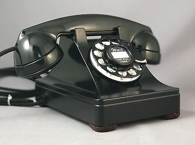 Western Electric 302 Rotary Dial Telephone - Restored